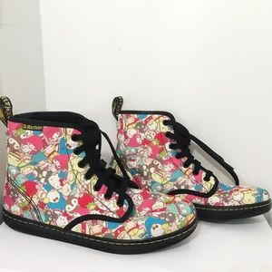 Dr Martens limited edition Sanrio hello kitty